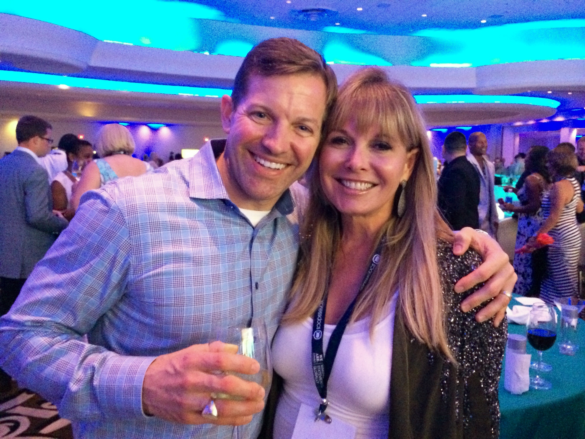 Pictured with International Real Estate friend and Broker in Miami, Florida. Matthew Paul Brown
