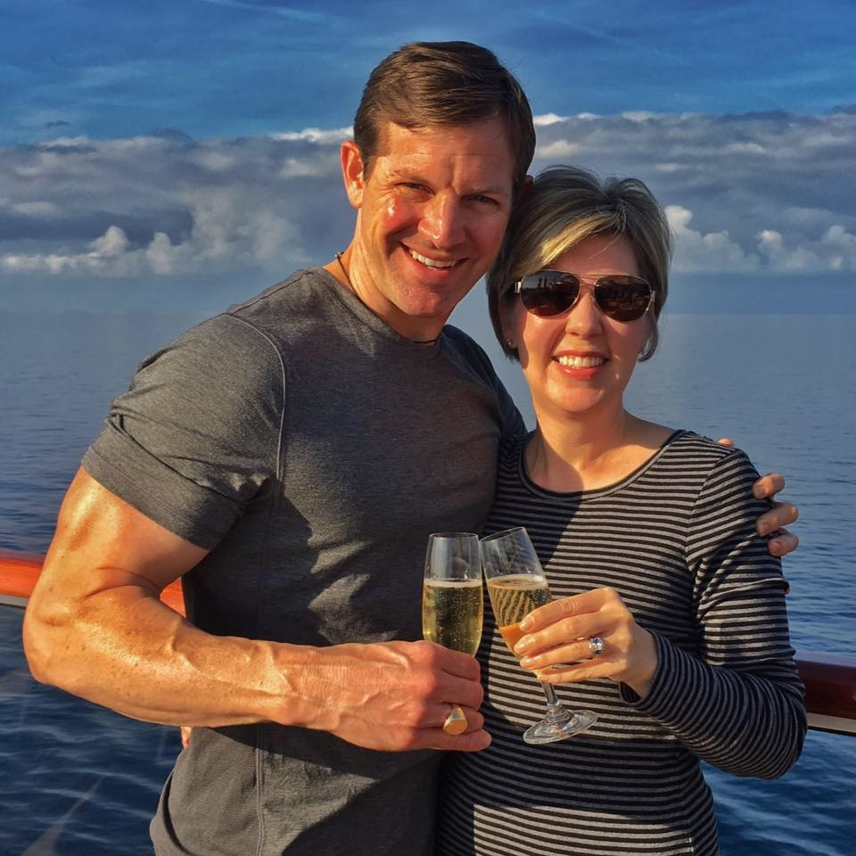 Pictured with my wife, Elizabeth on vacation in Italy. - Matthew Paul Brown