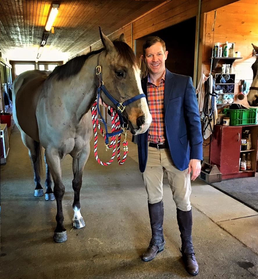 Matthew Paul Brown Pictured at one of my Equestrian Estate listings in South Carolina. Ready to ride!