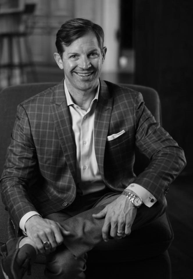 Matthew Paul Brown Pictured at Bespoke Charlotte REALTOR community real estate luncheon.