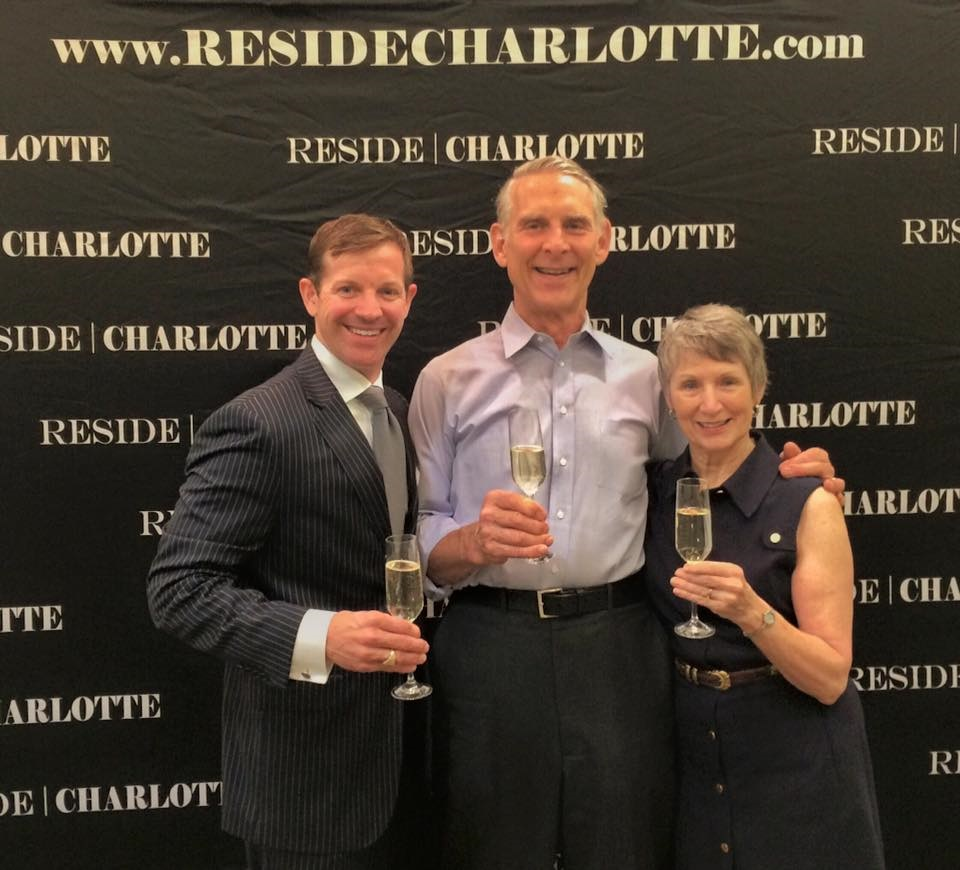 Matthew Paul Brown | Reside Charlotte pictured at the closing of friends and clients, Setzer's home where they reared their family. New Chapter in their life!